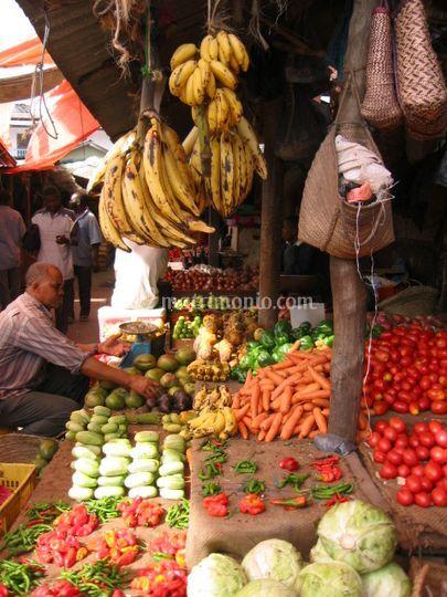 Zanzibar mercato