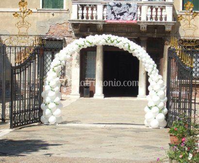 Partyartista articoli per feste e allestimenti con - Decorazioni matrimonio palloncini ...