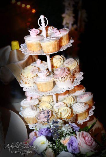 Weddign cupcake