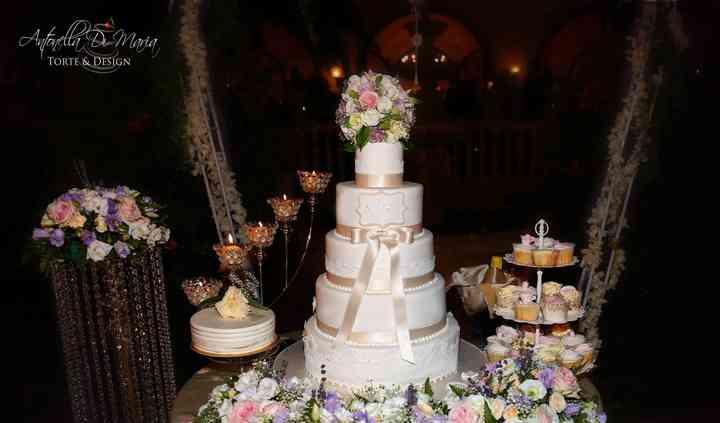 Weddign Cake Table