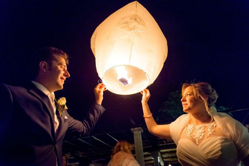 Lancio lanterna