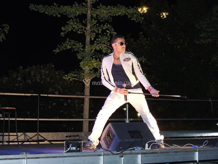 Paul in Freddie Mercury