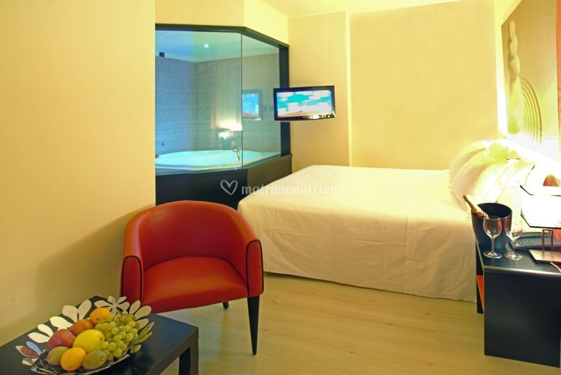 Suite di amat design hotel foto 3 for Hotel amati bologna