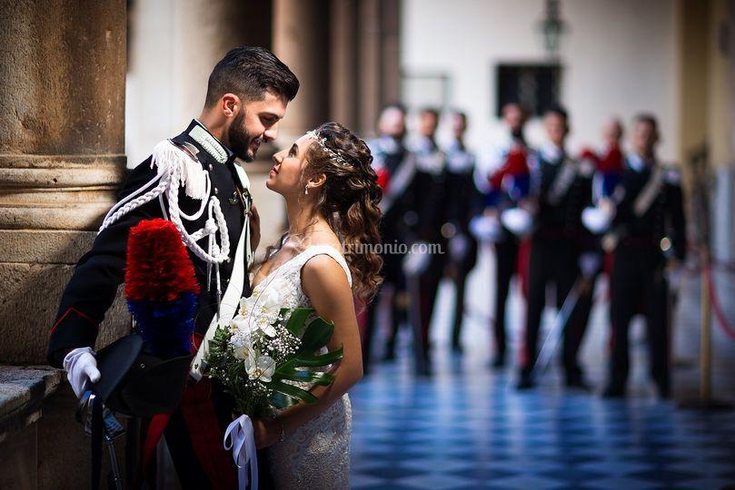 Matrimonio picchetto