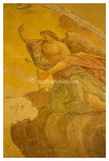Gli affreschi-sale interne