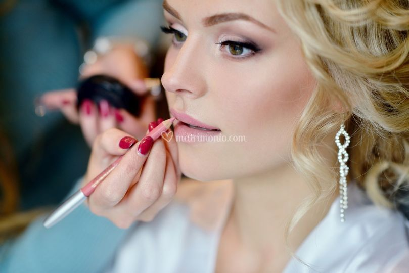 Lia Favale make up artist