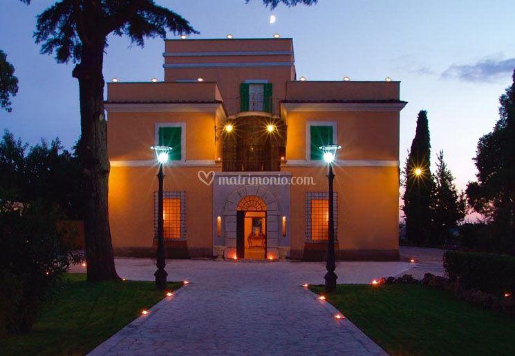 Facciata Villa Tavernucole