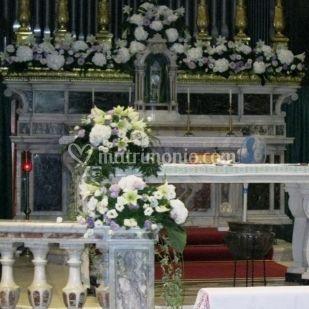 Fiori per l'altare