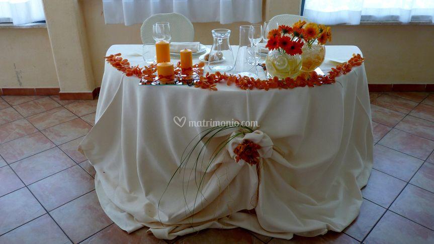 Tavolo degli sposi 2