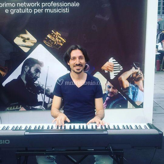 Esibizione al Fim di Milano 18