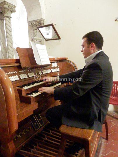 Organo - Cerimonia religiosa
