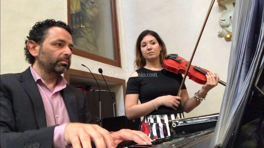 Con Laura Calcagno
