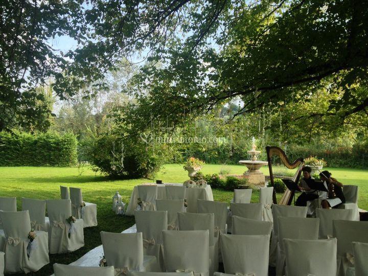 Cerimonia Civile giardino