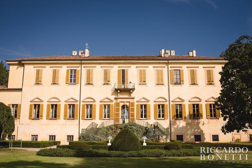 Il parco di Villa Botta Adorno