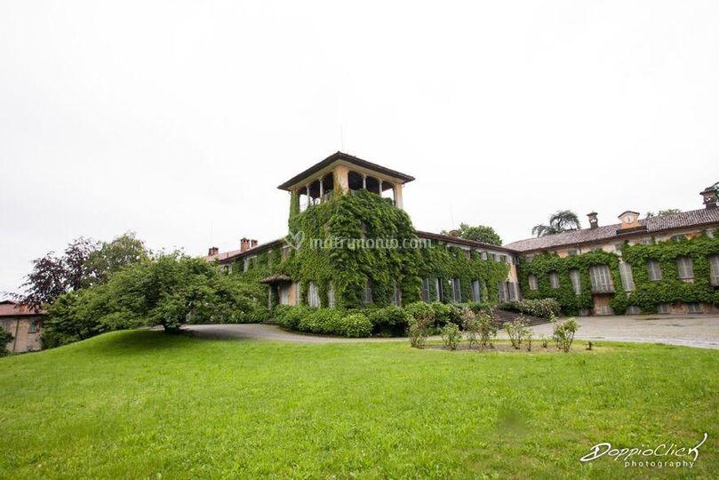 Fronte villa