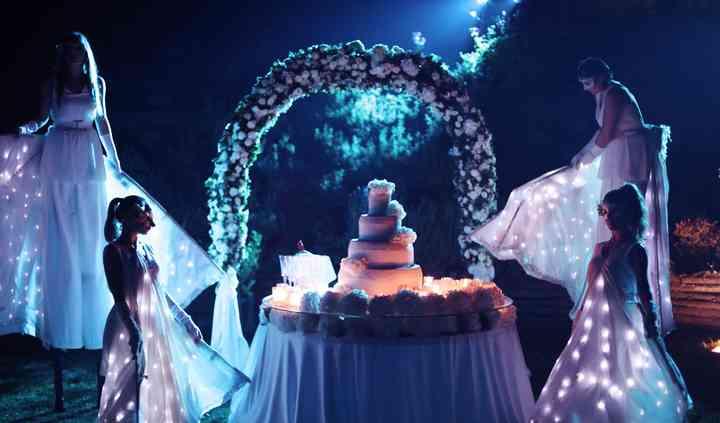 Wedding Cake mozzafiato!