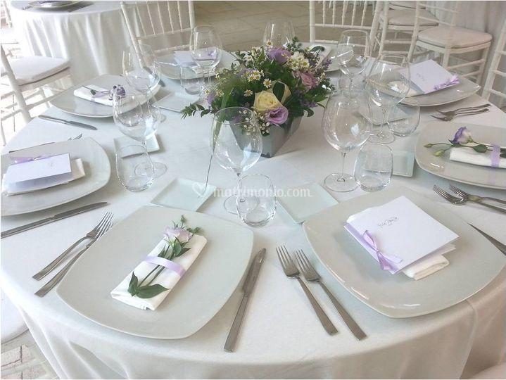 Wedding Lilla - Mise en place