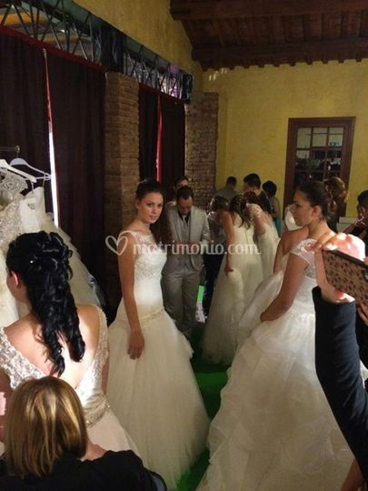 Sfilata abiti da sposa Atelier