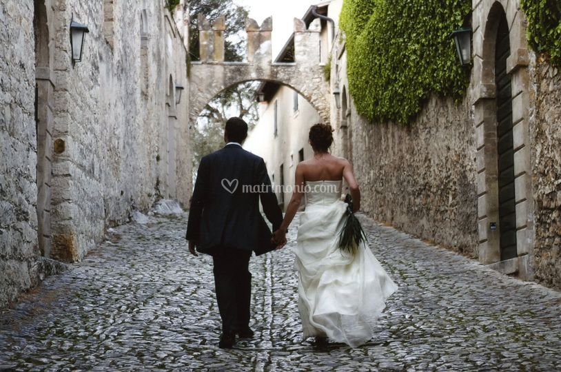 Sposi a Punta San Vigilio