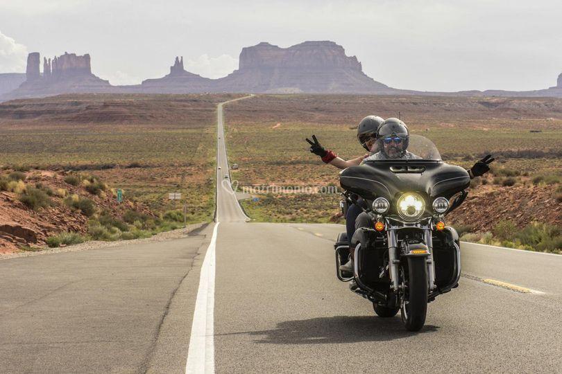 Viaggi di nozze in moto