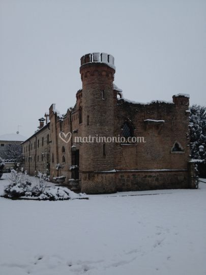Castelletto con la neve