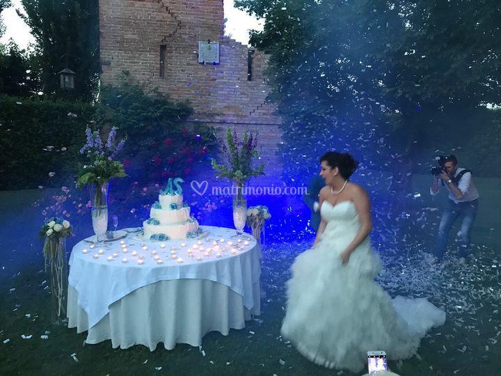Un matrimonio in blu
