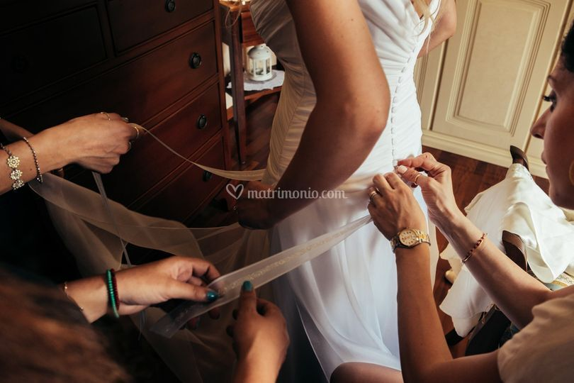 Dettaglio sposa