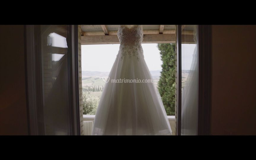 Wedding video still