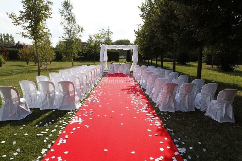 Matrimonio in giardino 3