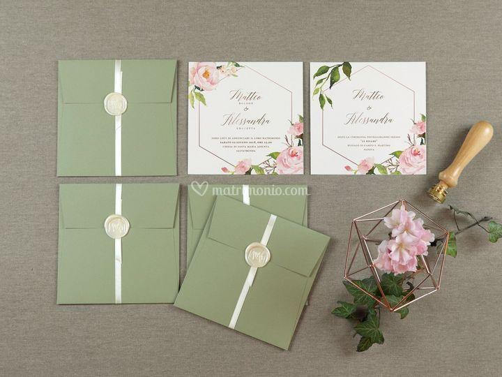 Wedding suite floreale