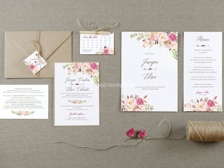 Grafica Matrimoni - Alessandra Crocetta