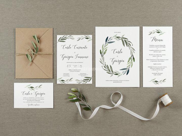 Wedding suite olive