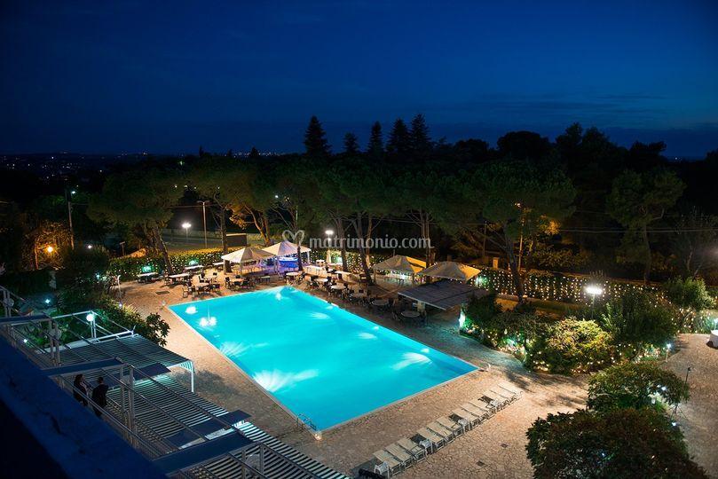 Area esterna piscina