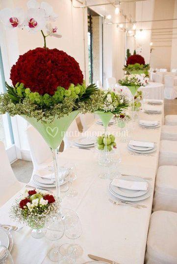 Composizione tavolo