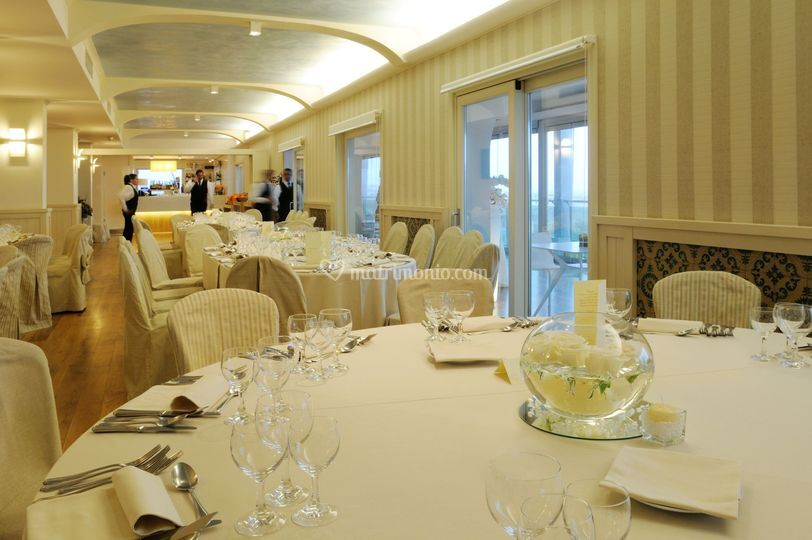 Sala blau banchetto