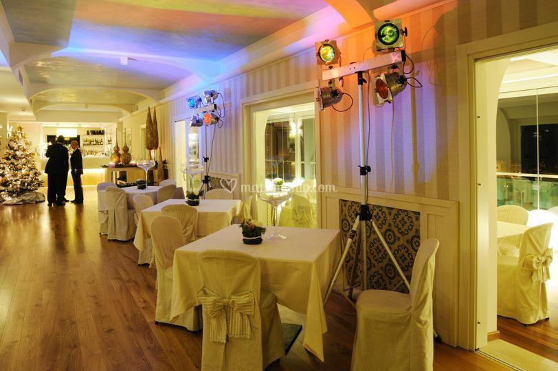 Sala blau festa