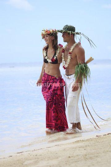 Polinesia spiagge