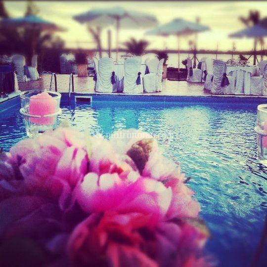 Villa edelweiss for Matrimonio bordo piscina