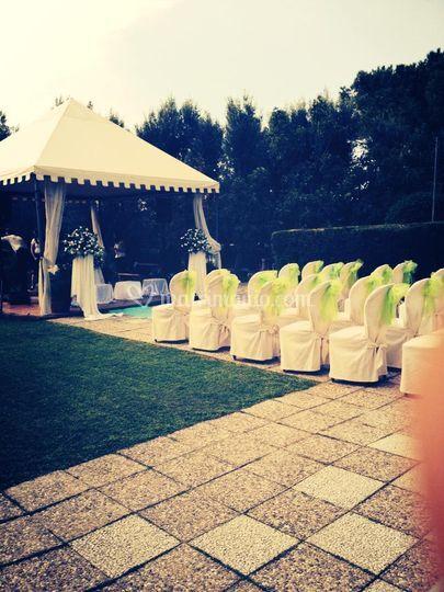 Villa edelweiss - Matrimonio in giardino ...