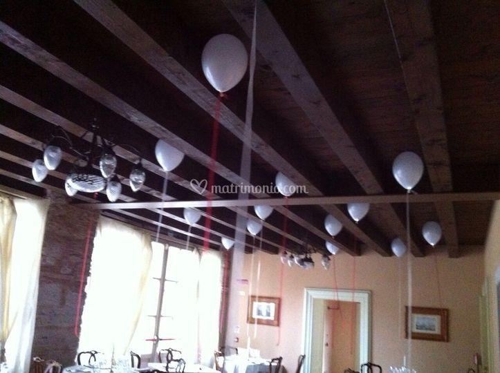 Illuminazione e palloncini