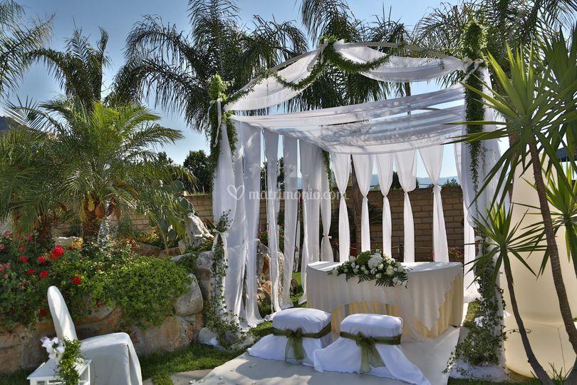 Il tempio di giove - Allestimento giardino ...