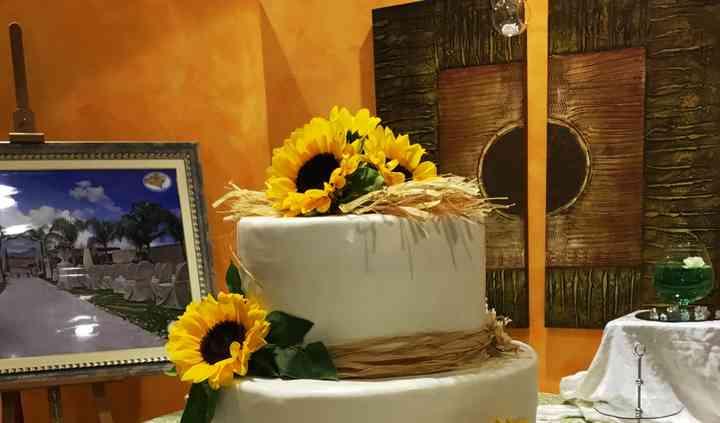 Torta girasoli