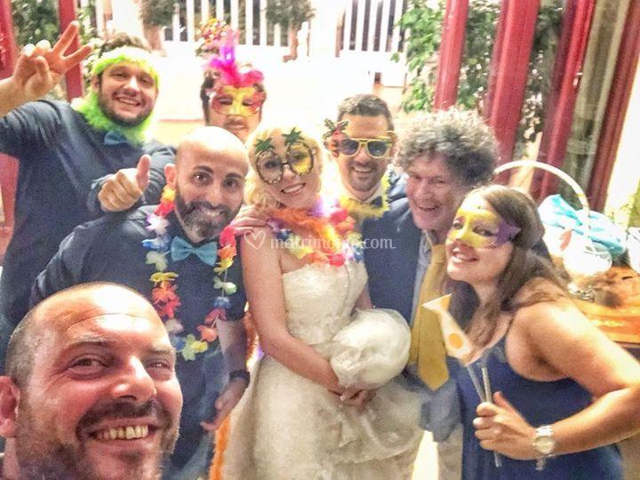 Matrimonio in allegria !!