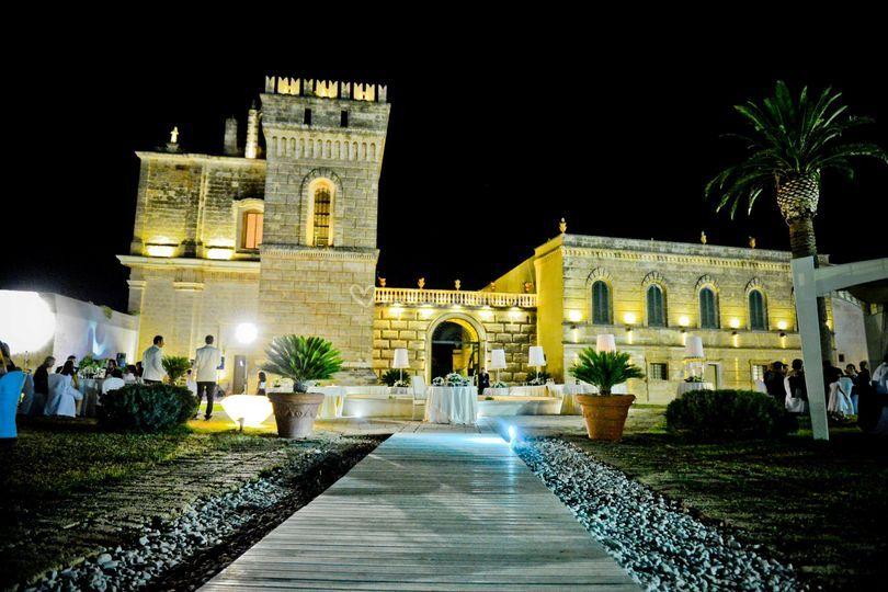 Abbazia by night di Abbazia di San Lorenzo