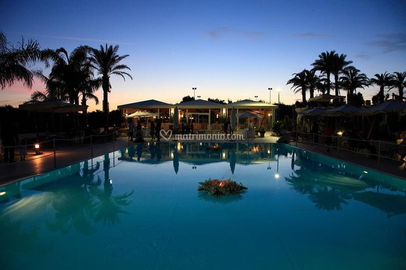 Disio resort for Addobbi piscina