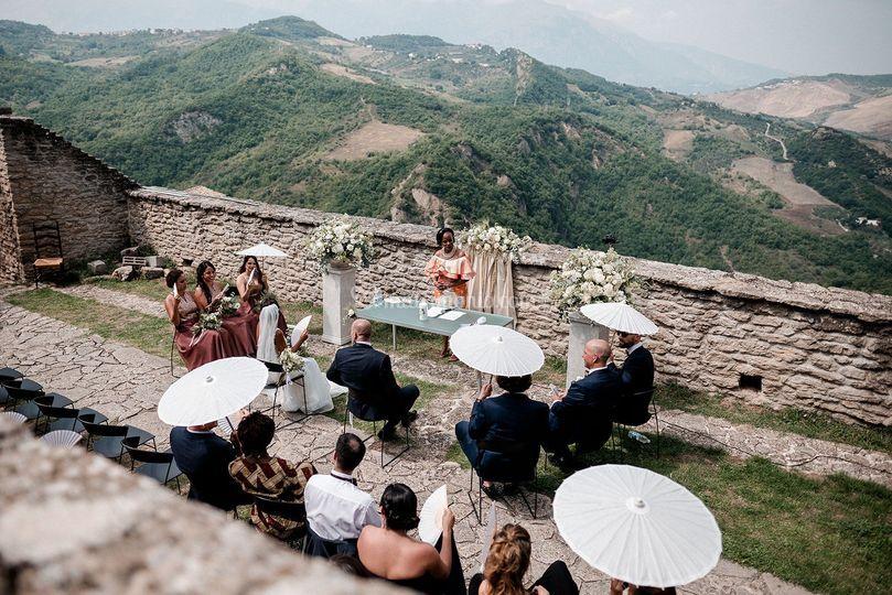 Matrimonio a Roccascalegna
