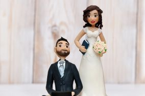 Cake Toppers by Andy CreArt