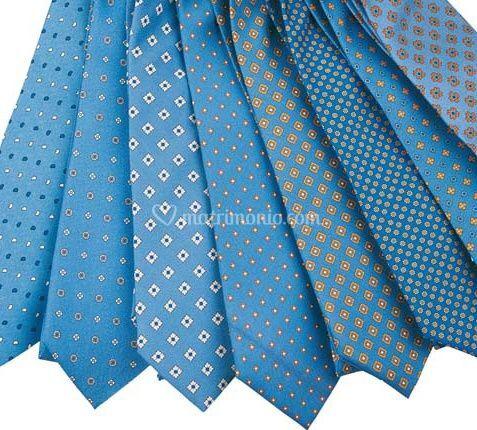 Cravatte azzurre