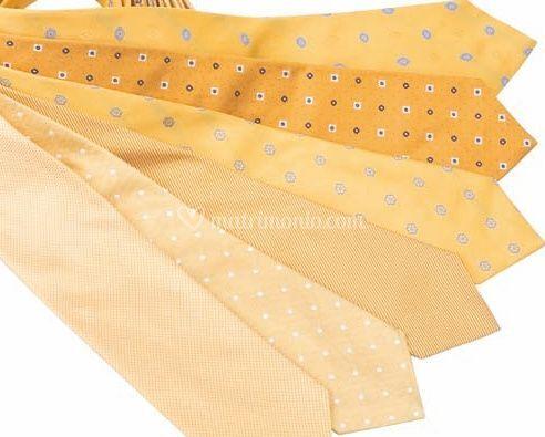 Cravatte gialle