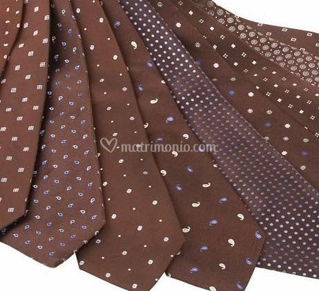 Cravatte marroni